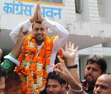 youth president rajat choudhery resignation