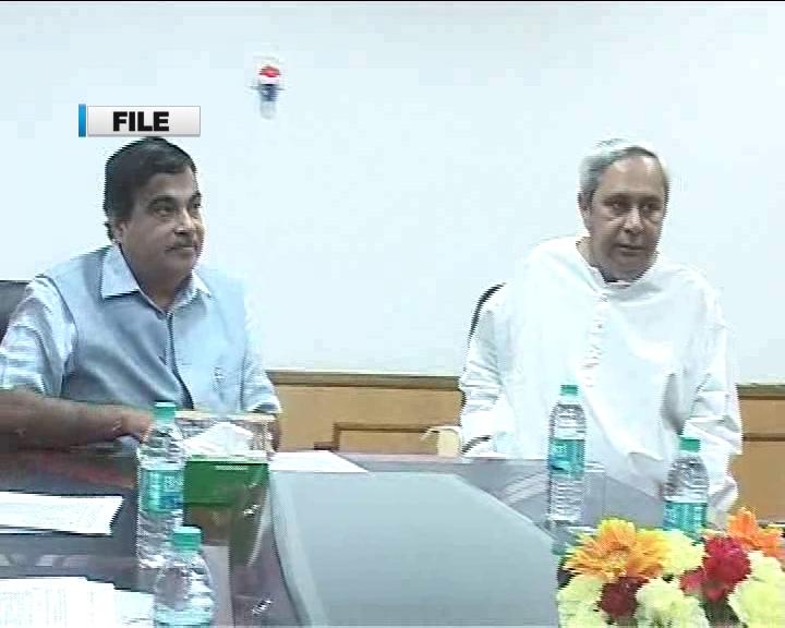 cm visit delhi, meet transport minister nitin gadkari.
