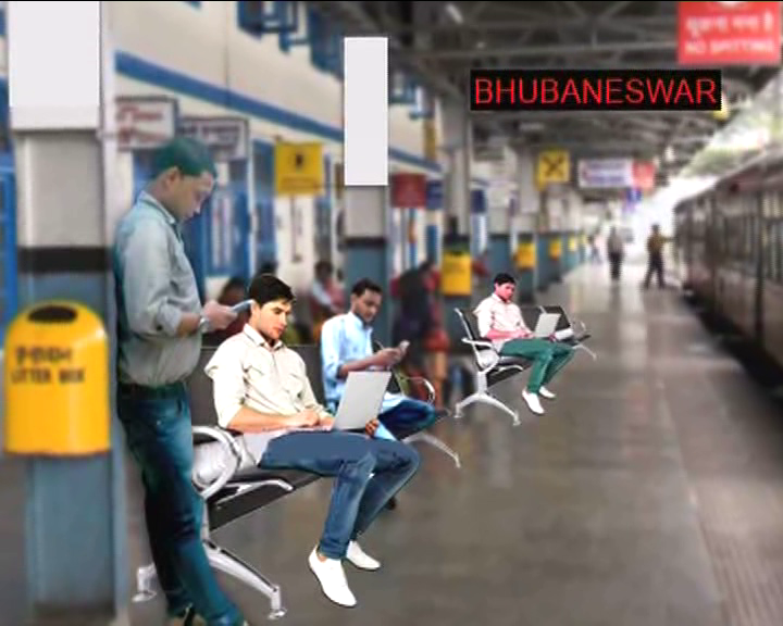 free wi fi service in bbsr railway station,