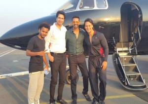 bikram with other actors