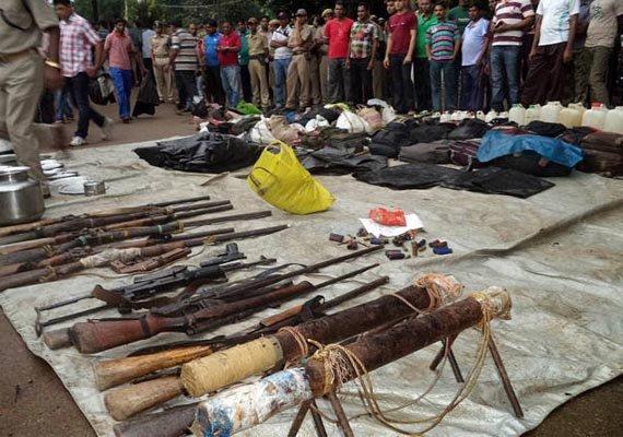 armes seized