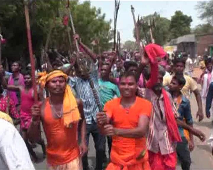 subarnapur rampur adivasi protest