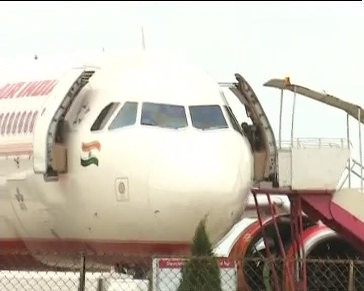 air india flight emergency landing