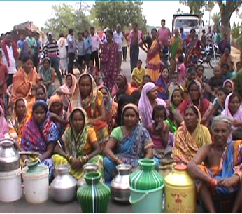 water problem in burda ,balangir