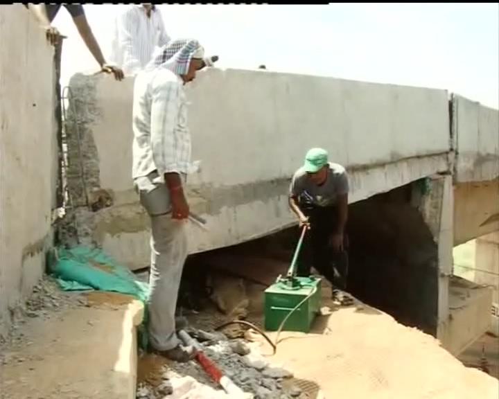 samajajapur bridge repairing