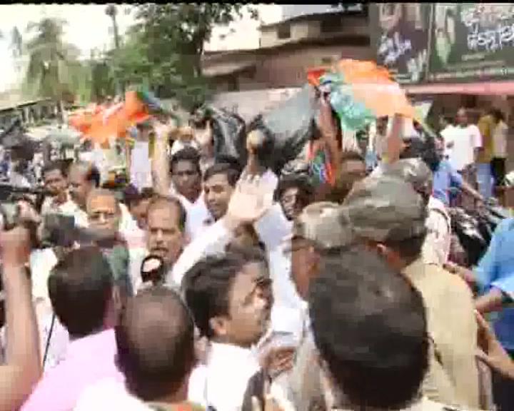 cm protest in puri