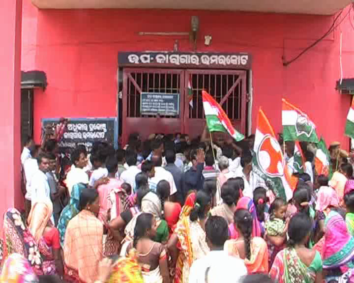 leave strike congress worker in umarkot jail