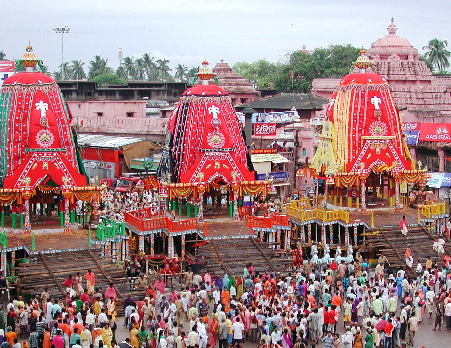 chariots at saradhabali