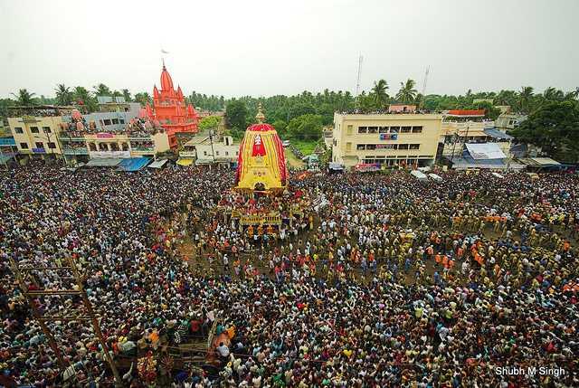 rush at rathayatra