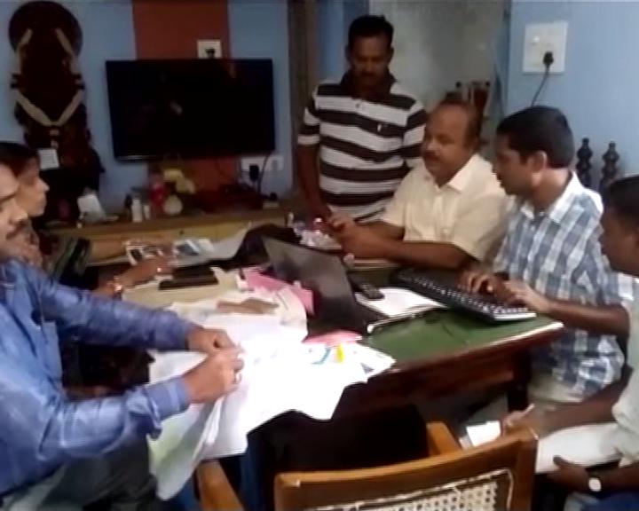 vigilance raid in brahmapur
