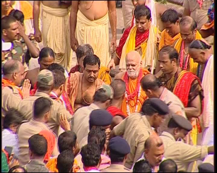 sankara charya -visit car festival
