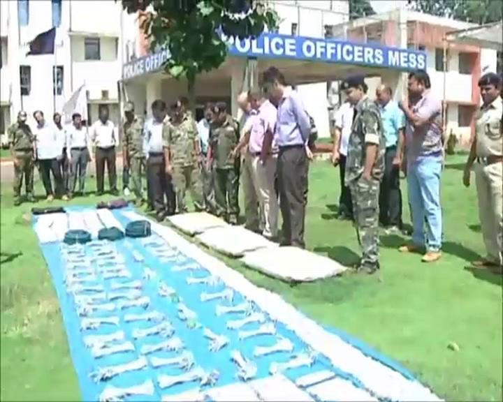 explosive siezed in chhatisgarh