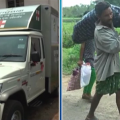 mahaprayan ambulance- kalahandi deadbody issue