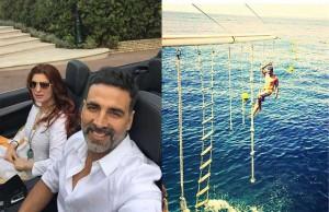 Akshay Kumar - Twinkle Khanna - Holiday in France