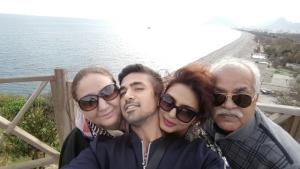 Huma & Saqib's exquisite holiday with parents - Turkey
