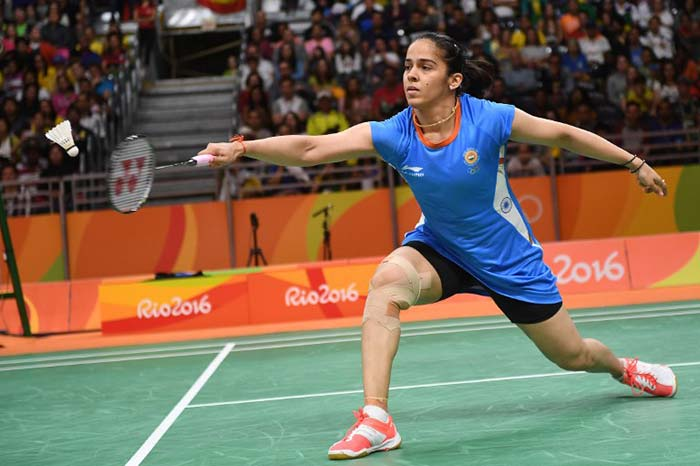 saina in rio- win
