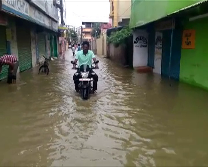 heavy rain in sambalpur