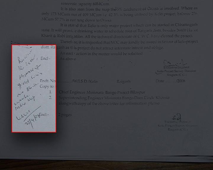 chhatisgarh letter