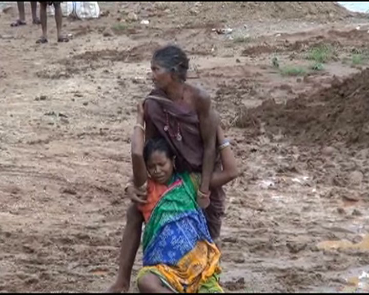 pregnant lady trouble in rayagada