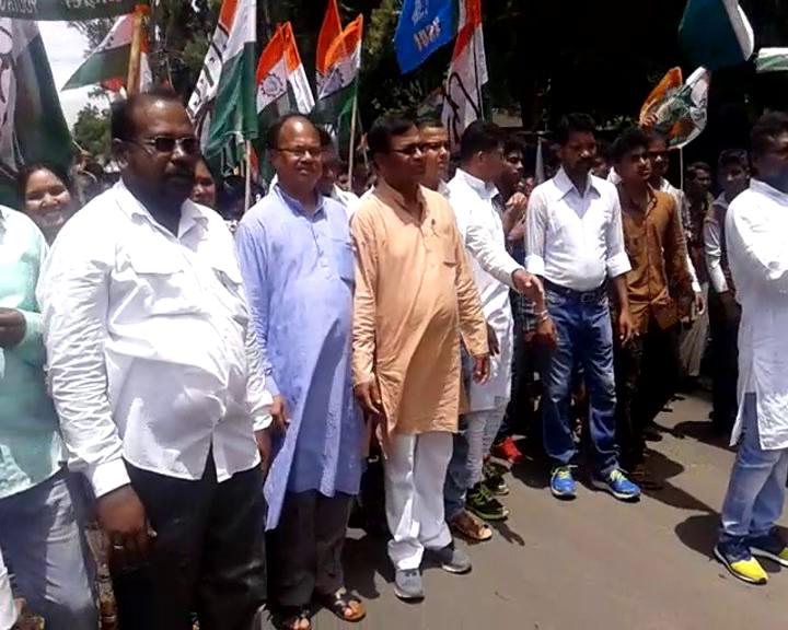 congress adhikar yatra last day