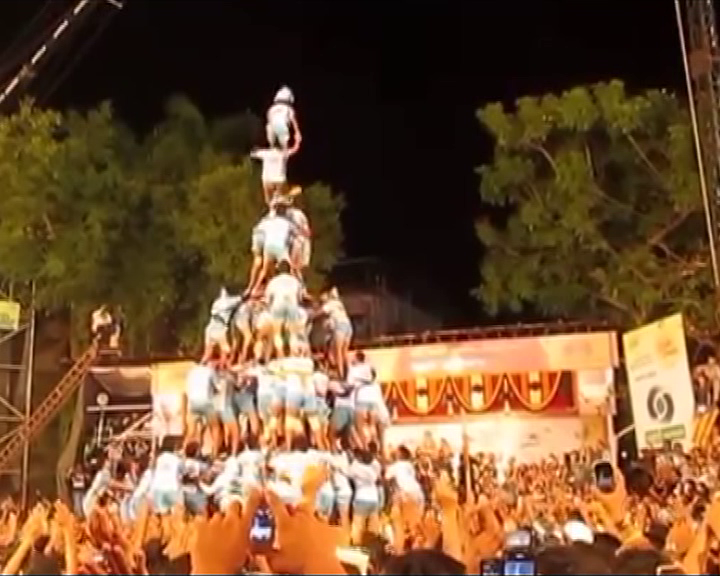 sc on dahi handi breaking
