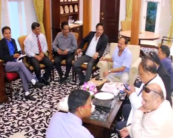 investors meet in bengaluru