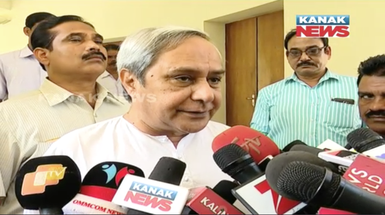 cm naveen patanaik reaction about mahanadi issue
