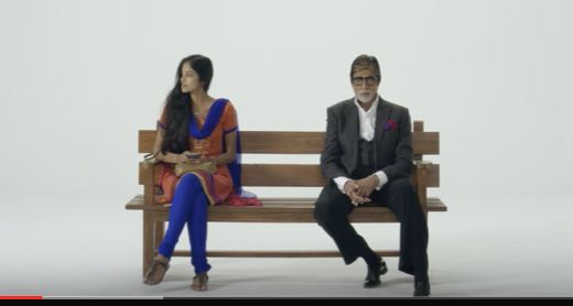 entertain- amitabh bachhan in a new advertisement ' aab samjhota nenhi i