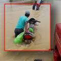 baleswar flood - river subarnarekha and jalaka