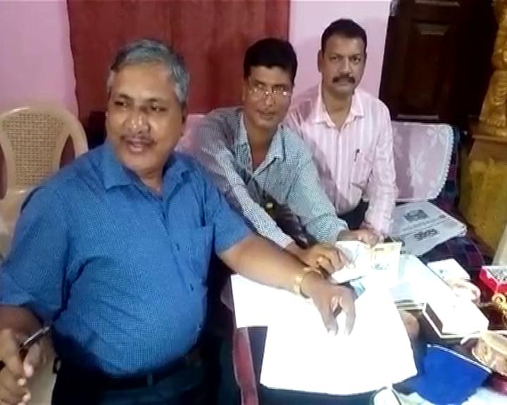 vigilance raid in berhmpur