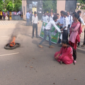 BJb college protest