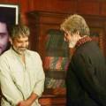 'Baahubali' director SS Rajamouli visits Amitabh Bachchan on 'Sarkar 3' sets