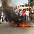 protest against katju
