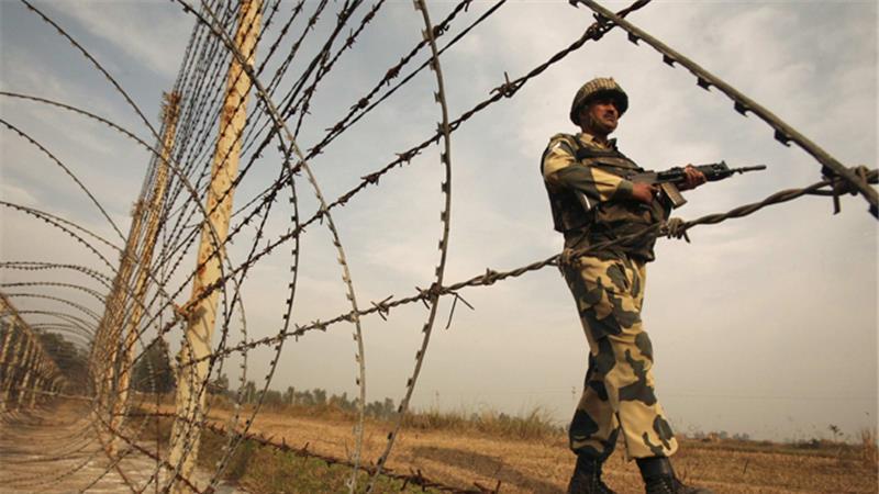 border firing