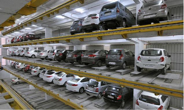 multi level parking