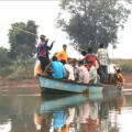 Dangerous Boat Journey In Malkangiri