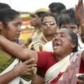 Jayalalithaa's supporters
