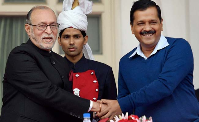 Anil Baijal Takes Oath