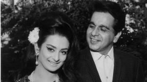 Film star Saira Bano and Dilip Kumar