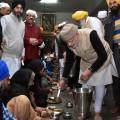 PM Modi at Golden Temple