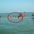 Boat With 25 Passengers Drowns In Chilika