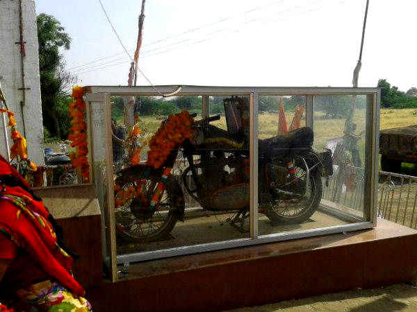 worship royal enfield bike