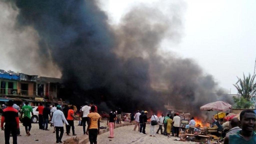 Nigeria Maiduguri blast