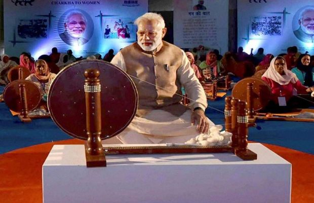 Narendra-Modi-Khadi