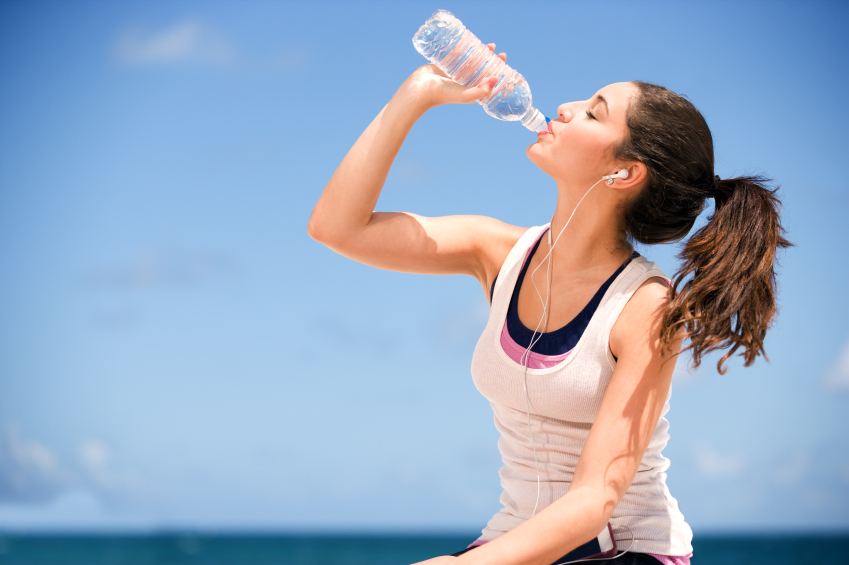 drinking water helps weight-loss