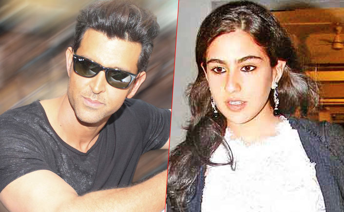 sara ali khan and hrithik roshan