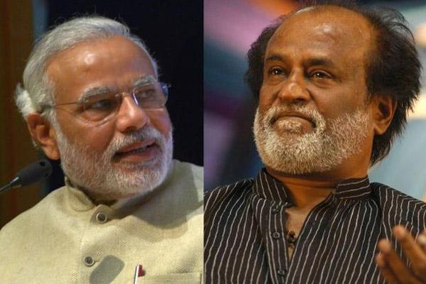 Rajinikanth-And-Modi