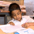 Specially-Abled Student Appears 10th Exam In Bhubaneswar