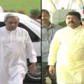 naveen vs dharmendra meet in sambalpur programme