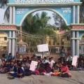 student strike bhogarai ,baleswar